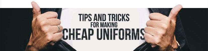 Tips and tricks cheap uniforms divider