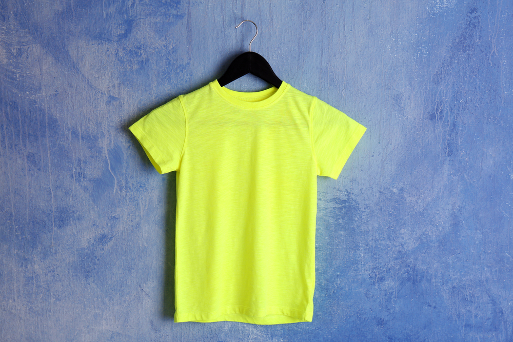 High visibility green t shirt