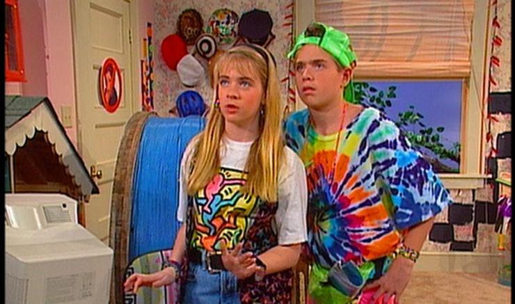 tie dye t shirt on Clarissa explains it all