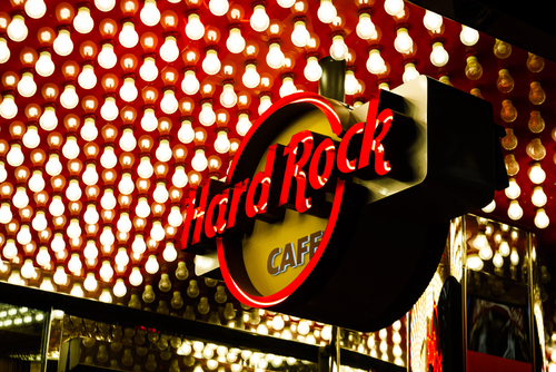 hard rock produces pocket t-shirt