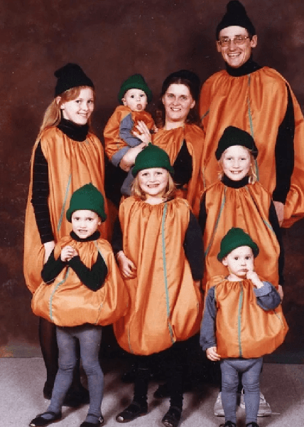 orange you glad family card