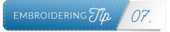 embroidering tip divider 7