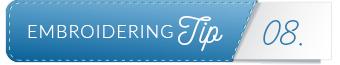 embroidering tip divider 8