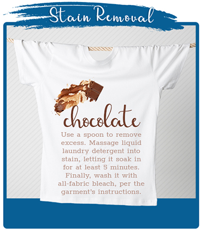 Chocolate Stain Removal