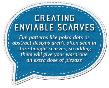 creating enviable scarves quote