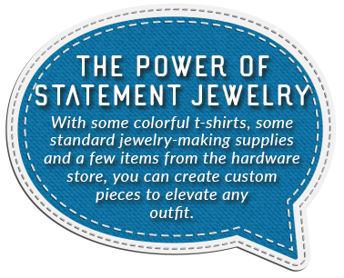 power statement jewelry quote