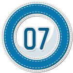 stitched number divider 7