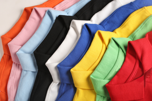 collars various polo shirts