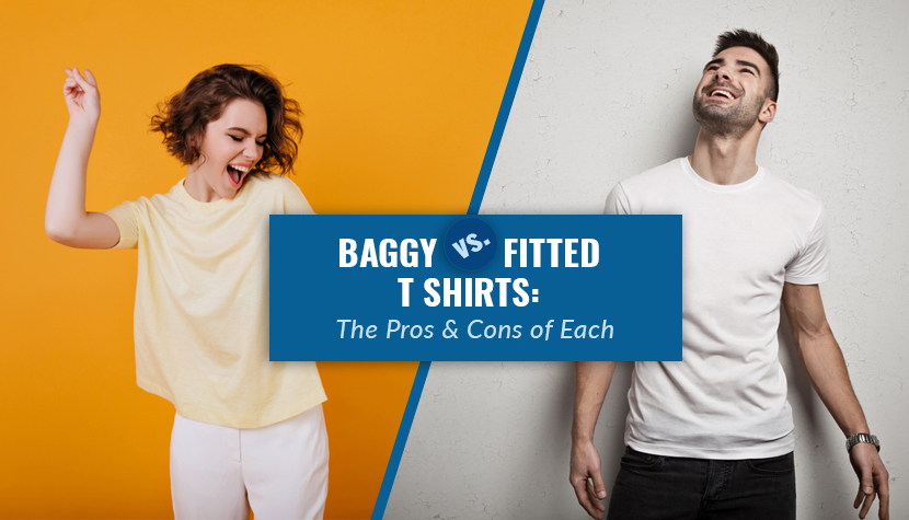 baggy vs fitted t shirts