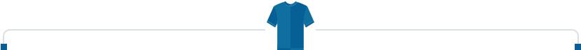 blue shirt divider