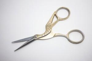 pair of vintage scissors