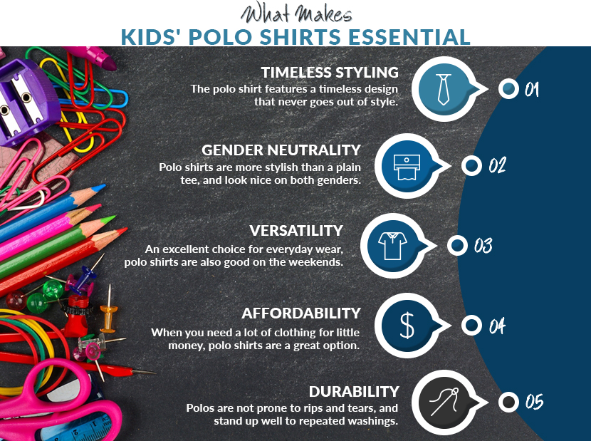 polo shirts are essential graphic