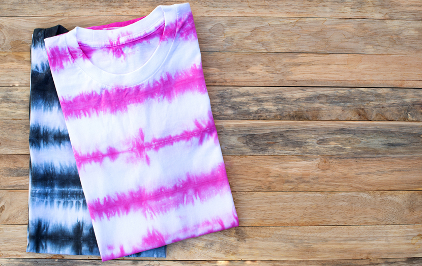 striped tie dye t shirts