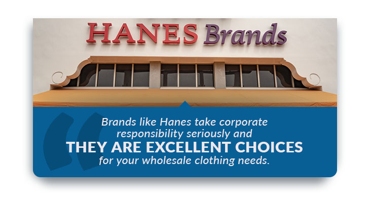 hanes brand wholesale clothing quote