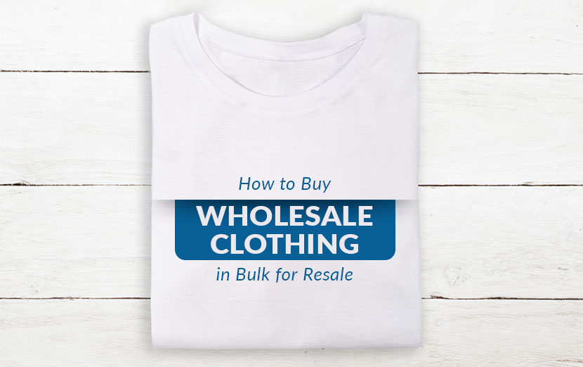 how to buy clothing in bulk for resale