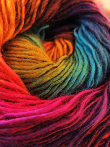 colors of wool yarn