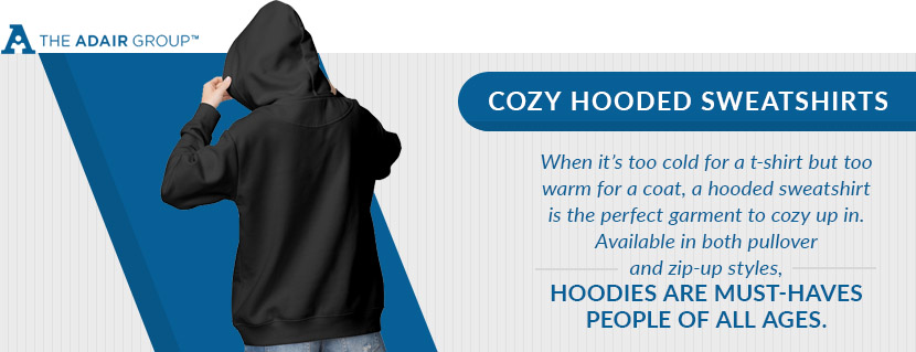 cozy hooded sweatshirts quote
