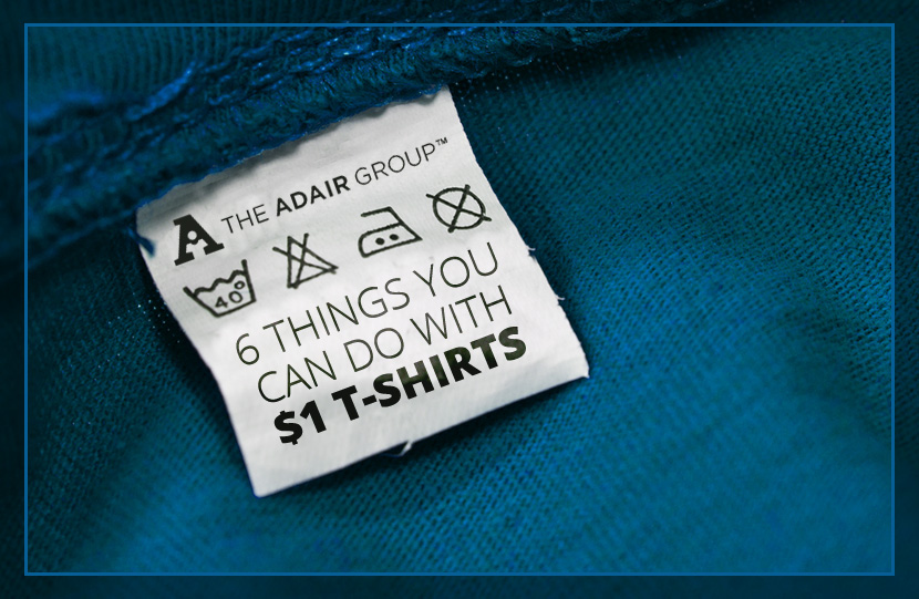 6 Things You Can Do with $1 T-Shirts