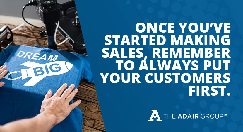 Put customers first