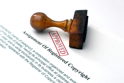 approved copyright registration paperwork