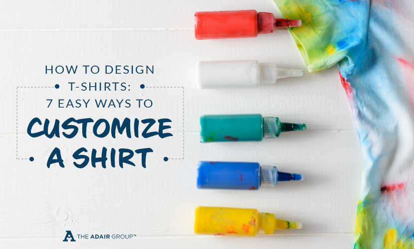 how to design shirts customize a shirt