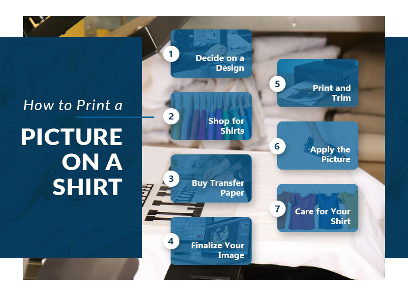 how to print a picture on shirt