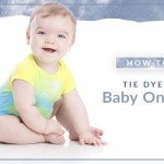 How to Tie Dye a Baby Onesie