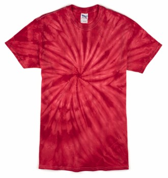 Red Cyclone| Adult Tie Dye T-Shirt