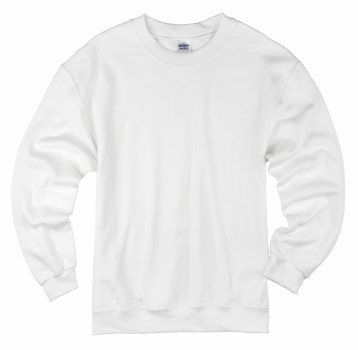 White Crewneck Sweatshirts For Adults The Adair Group