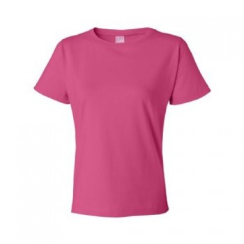Hot Pink| Womens Basic T-Shirt