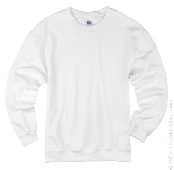 Adult Crewneck Sweatshirt - White