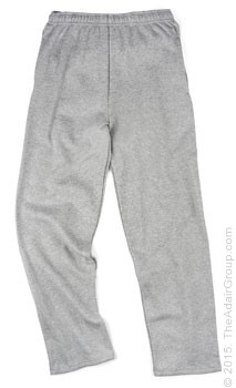 Adult Sweatpant w/ Pockets - Grey