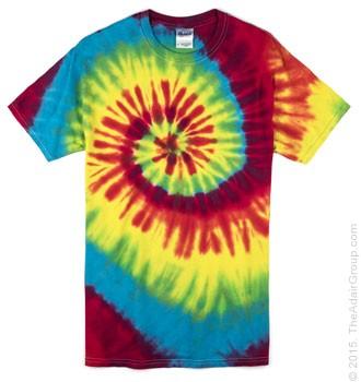 79bcd475b02ab Classic Rainbow Adult Tie Dye T-Shirt
