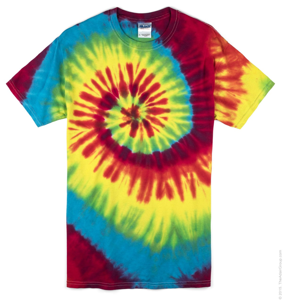 4ccfd1822d1 Classic Rainbow Adult Tie Dye T-Shirt