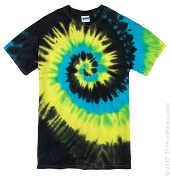 Island Breeze| Adult Tie Dye T-Shirt