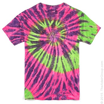 Watermelon Ripple| Adult Tie Dye T-Shirt