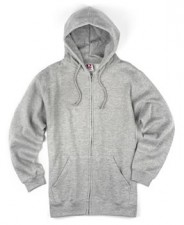 Heather Grey-Zip Hood|Full *DOZEN* Price