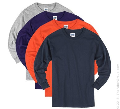 Assorted Colors| Kids Long Sleeve T
