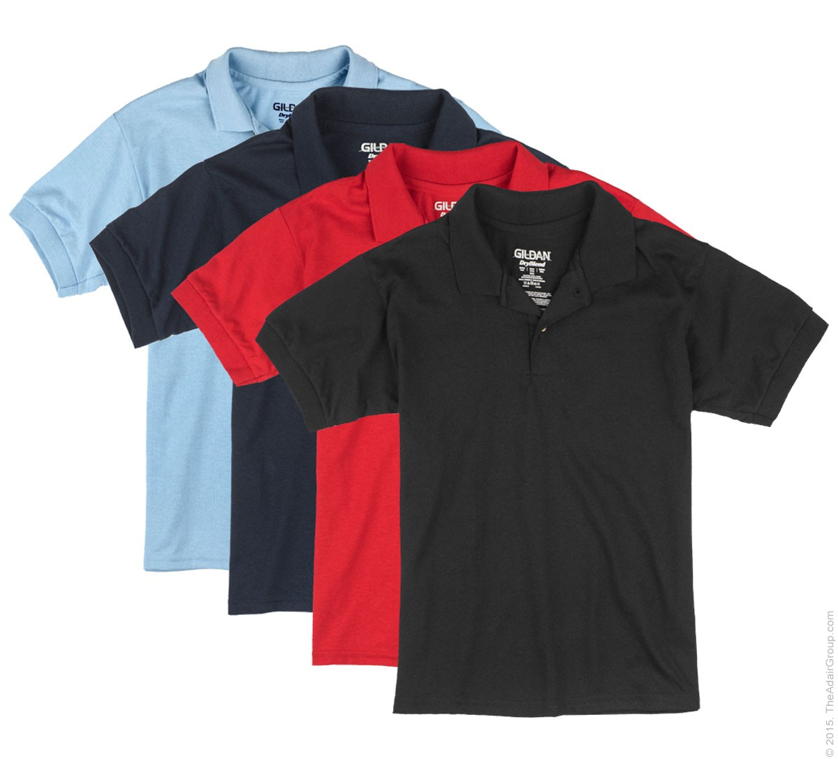 Assorted Color Kids Polo Shirts The Adair Group