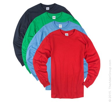 Assorted Colors| Adult Long Sleeve T