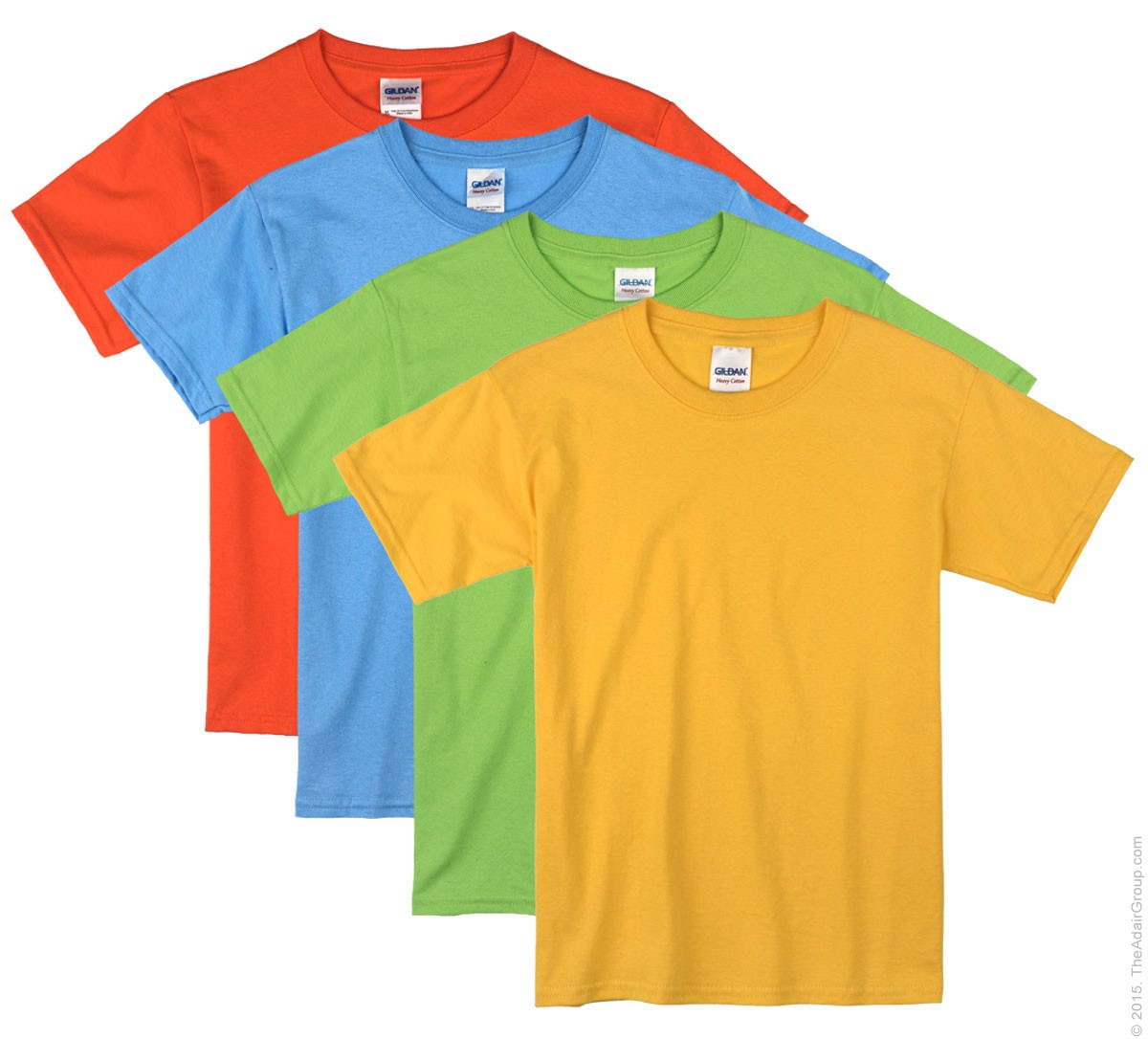 a391b9c253 Bright Color Kids T-Shirts | The Adair Group