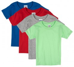 Assorted Colors| Toddler T-Shirt