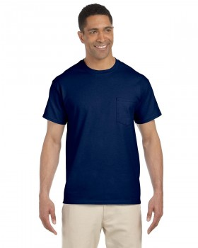 Navy | Adult Pocket T-Shirt