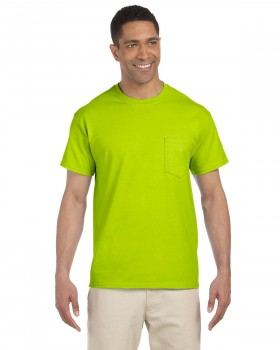 Safety Green | Adult Pocket T-Shirt