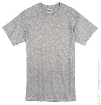 Gildan G500 Adult Sport Grey T Shirts Wholesale Adair Group