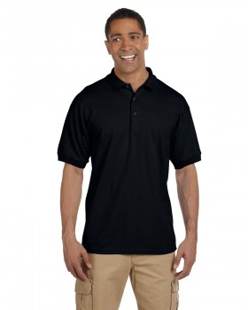 **Black|Adult Polo Shirt