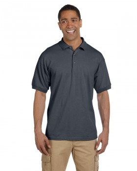 **Dark Heather| Adult Polo Shirt