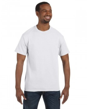 White | Hanes Adult T-Shirt