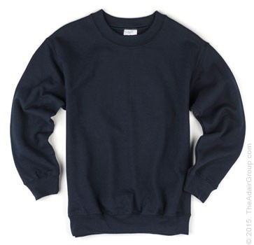 Kids Crewneck Sweatshirt - Navy