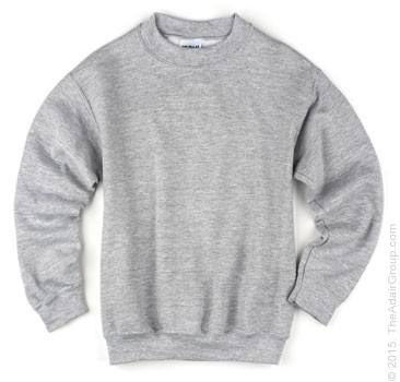 Kids Crewneck Sweatshirt - Grey